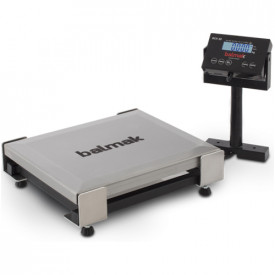 Balança Checkout 30kg Usb Serial RS232 Inox BCK30PB Balmak